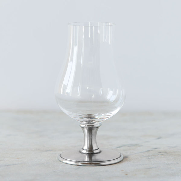 pewter & crystal whiskey glass-kitchen & dining - bar & drinkware-match-k colette