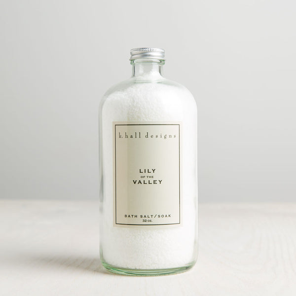 lily of the valley bath salts-apothecary - salts & scrubs-k hall designs-Default-k colette