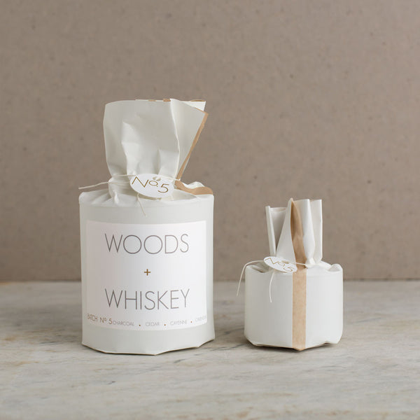 woods & whiskey soy candle-candles - candles-rica bath & body-22 oz-k colette