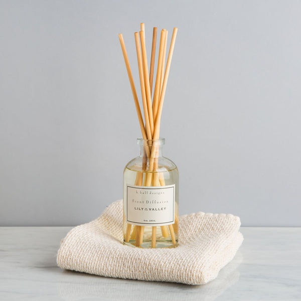 lily of the valley oil diffuser-candles - room sprays & diffusers-k hall designs-Default-k colette