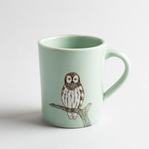 illustrated mug-kitchen & dining - bar & drinkware - for him-skt ceramics-k colette