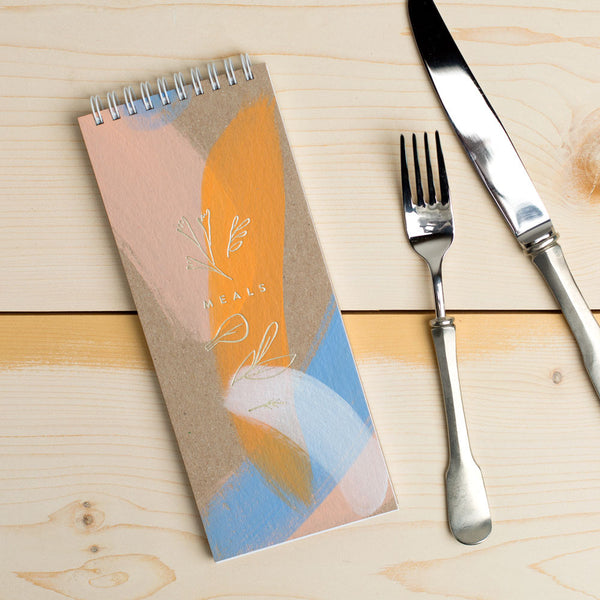 hand-painted meal planner-kitchen & dining - cooking & baking - desktop - journals-moglea-Default-k colette