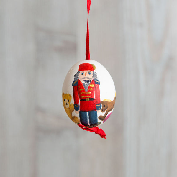 nutcracker hand painted egg ornament-holiday - ornaments-peter priess-Default-k colette