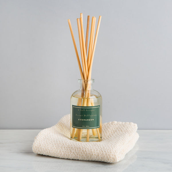 evergreen oil diffuser-holiday - apothecary - room sprays & diffusers - fragrance-k hall designs-k colette