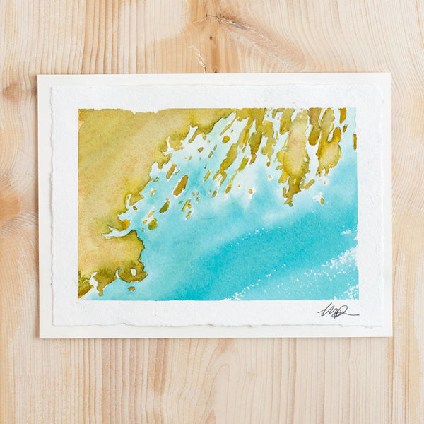 casco bay watercolor #1 by molly maps-art & decor - paintings & prints-molly maps-Default-k colette