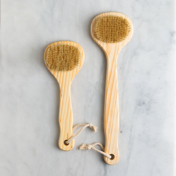 cedarwood bath brush-bed & bath - bath accessories-baudelaire-k colette