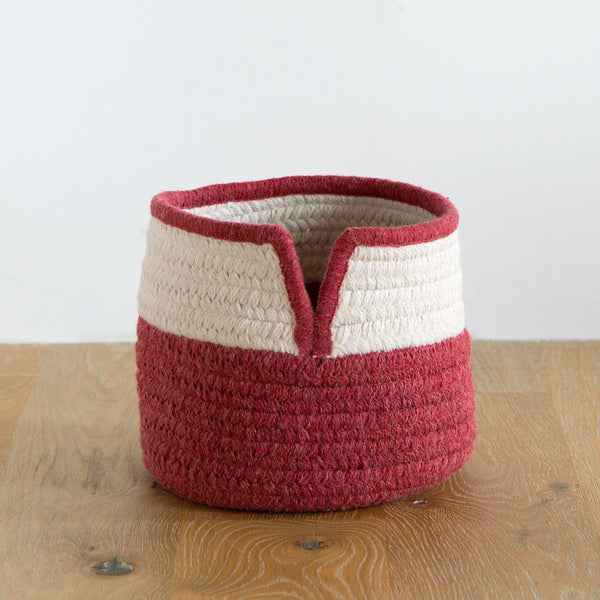 v-band basket-art & decor - objets - baby-thayer design studio-k colette