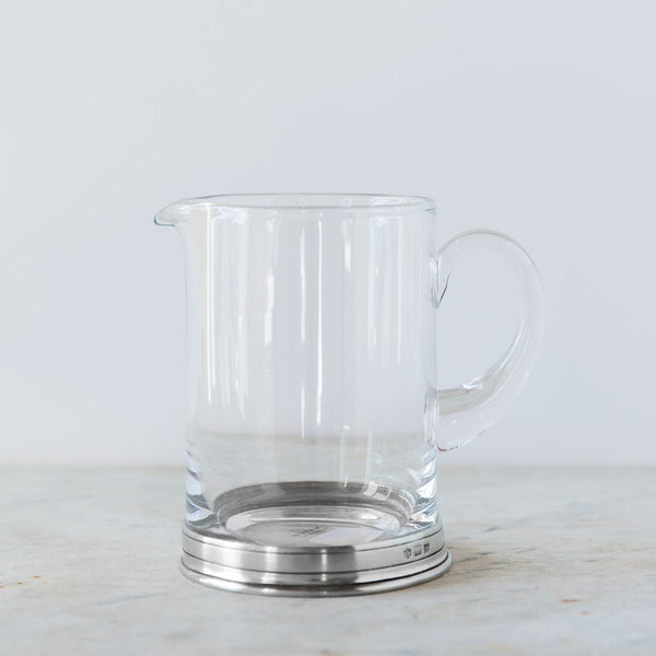 crystal & pewter branch bar pitcher-kitchen & dining - bar & drinkware - thank-match-k colette