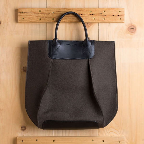 frankie tote-accessories - handbags & clutches-graf & lantz-charcoal-petite-k colette