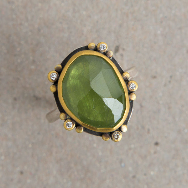 green sapphire & diamond ring-accessories - jewelry-ananda khalsa-Default-k colette
