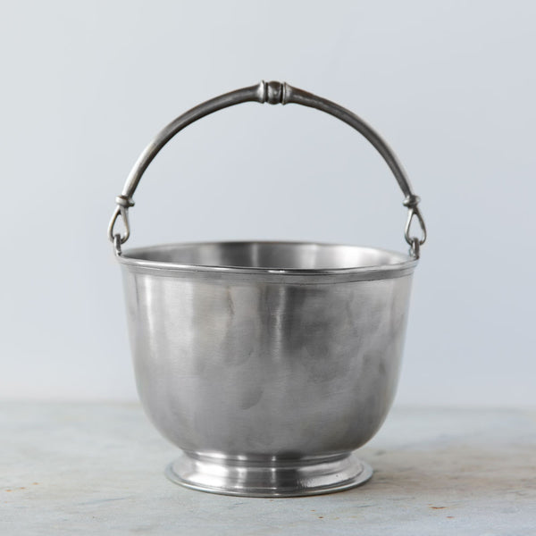 pewter cache-pot-dining - serveware-match-k colette