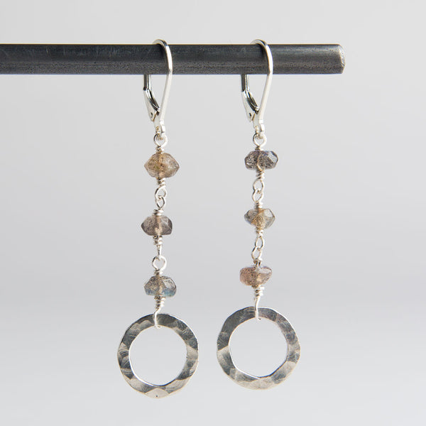 triple labradorite earrings-accessories - jewelry-lisa gent jewelry-k colette