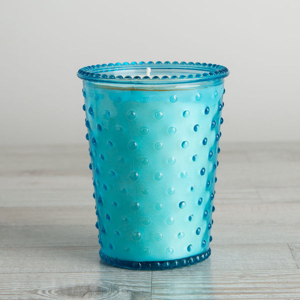 hobnail candle, cucumber & gin-apothecary - candles-simpatico by k hall designs-k colette