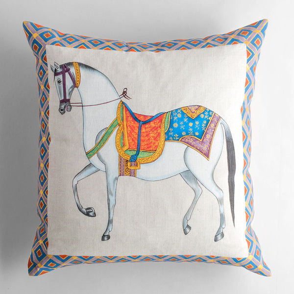 steed pillow-bed & bath - decor - pillows-john robshaw-k colette