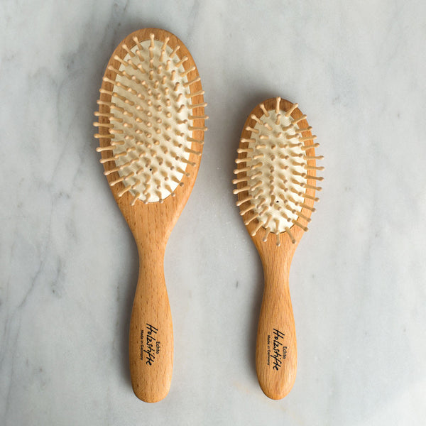 wooden hair brush-apothecary - bath accessories-redecker-small-k colette