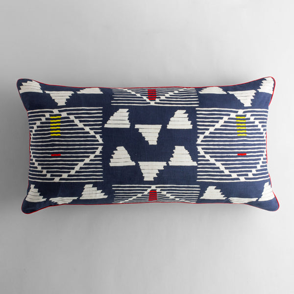 kambu bolster pillow-bed & bath - art & decor - pillows-john robshaw-k colette