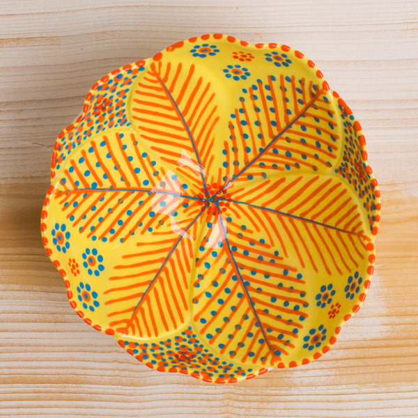 poppy sweetie bowl-kitchen & dining - serveware-potterseed-yellow-k colette