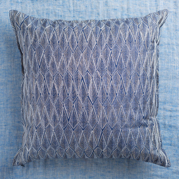 limited edition ridgeline indigo pillow-textiles - pillows-coral & tusk-Default-k colette