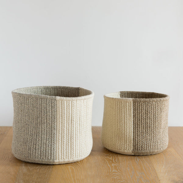 natural balance basket-art & decor - decorative objects - sale-thayer design studio-natural-medium-k colette