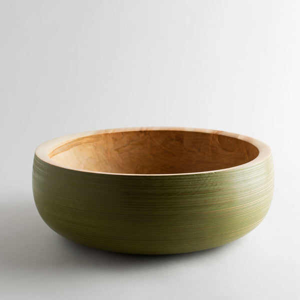 maple wood turned salad bowl-kitchen & dining - serveware - love - thank - gathering - for her-mark gardner-k colette