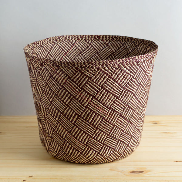 africa iraca basket, toast & brown-art & decor - objets-guanábana-k colette