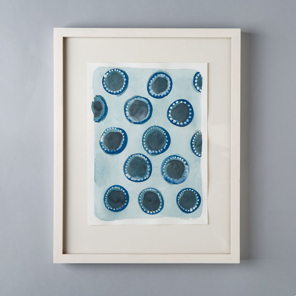 'dotted dots' watercolor painting-art & decor - paintings & prints-rebecca atwood-Default-k colette