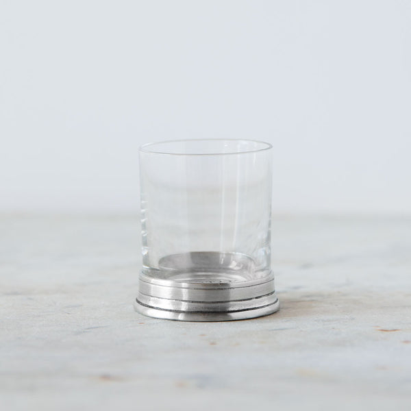 crystal & pewter neat shot glass-kitchen & dining - bar & drinkware-match-Default-k colette