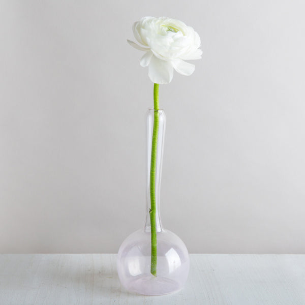 sargasso bud vase, light pink-art & decor - vases-lbk studio-k colette