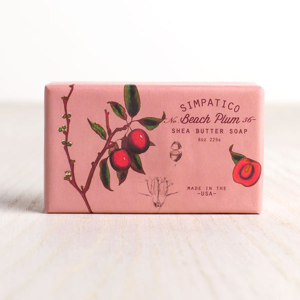 beach plum bar soap-apothecary - soaps & lotions-simpatico by k hall designs-Default-k colette