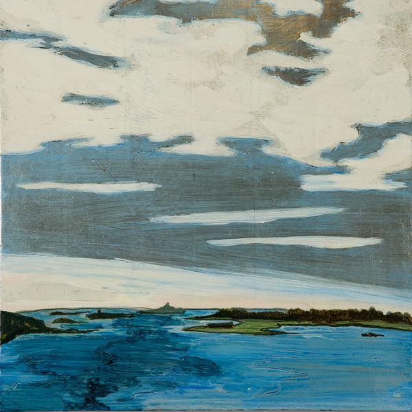 'popham from cox's head' gilded painting-art & decor - paintings & prints-johanna moore-Default-k colette