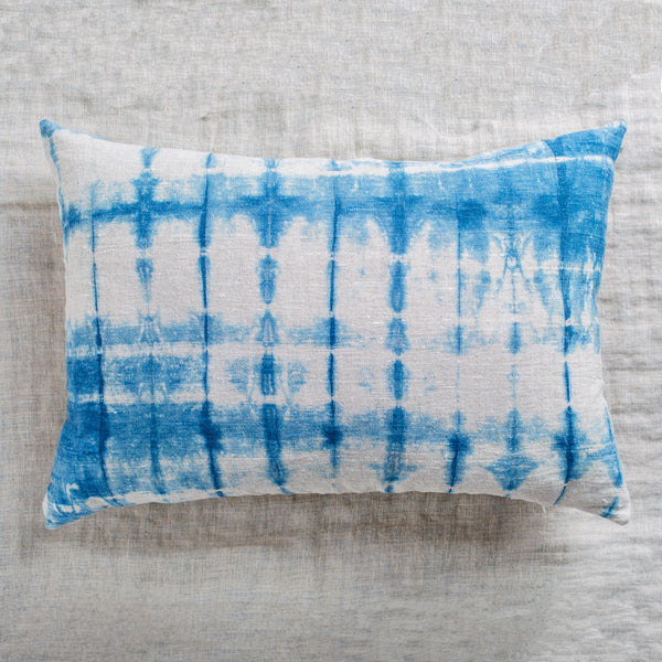 shibori lumbar pillow-textiles - pillows-always piper-Default-k colette