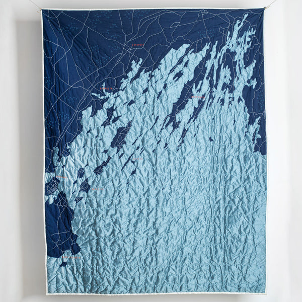 casco bay quilt-bed & bath - bedding - art & decor - throws - maine-haptic lab-navy-k colette
