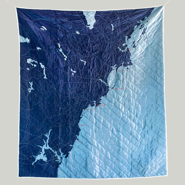 southern maine coast quilt-bed & bath - bedding - art & decor - throws - sea-haptic lab-navy-k colette