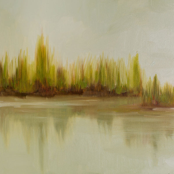 marsh grass no. 3 oil painting-art & decor - paintings & prints - maine - sea-jill matthews-k colette
