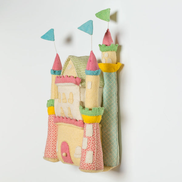 princess castle wall hanging-baby - nursery decor-fiona walker-Default-k colette