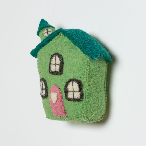 mini felt house-baby - nursery decor-fiona walker-k colette