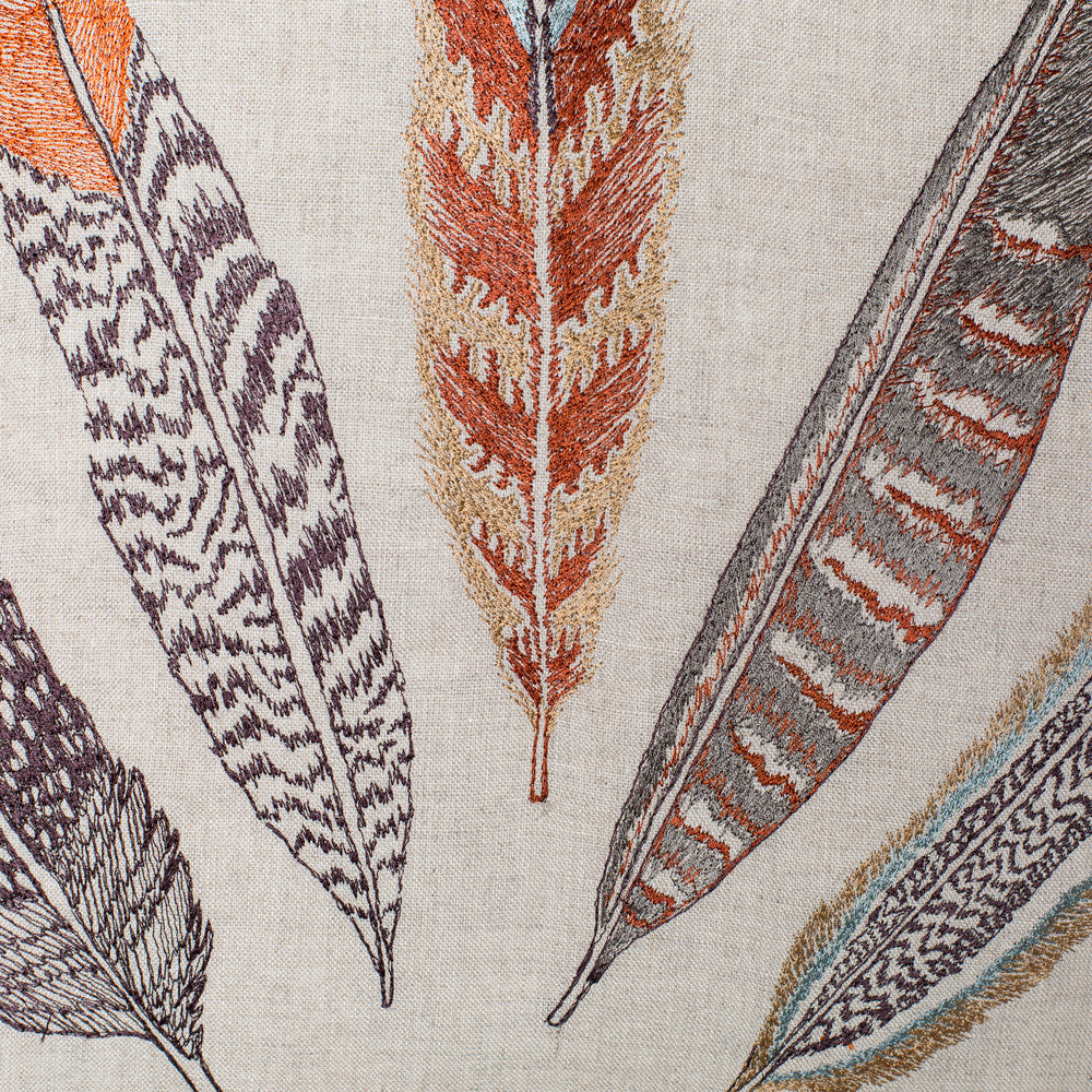 plumes fan pillow-textiles - pillows-coral & tusk-Default Title-k colette