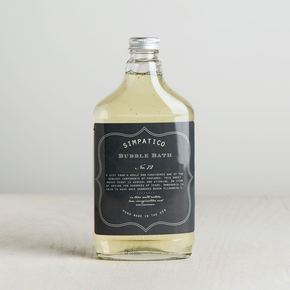 ambergris bubble bath-apothecary - oils & elixirs-simpatico by k hall designs-Default Title-k colette