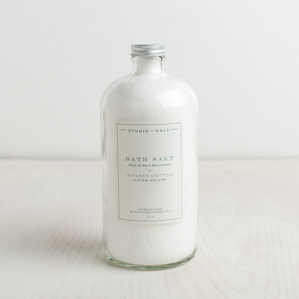 washed cotton bath salts-apothecary - salts & scrubs-k hall designs-Default Title-k colette
