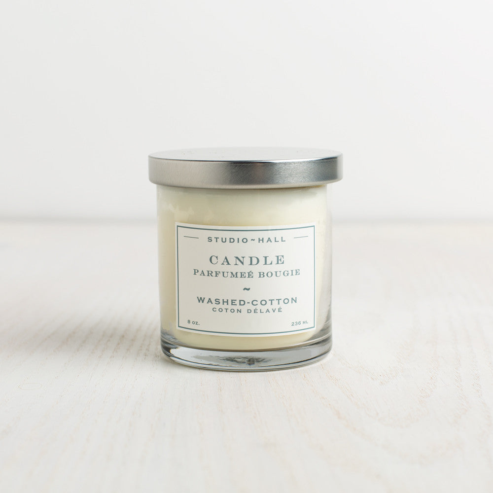 washed cotton candle-candles - candles-k hall designs-k colette