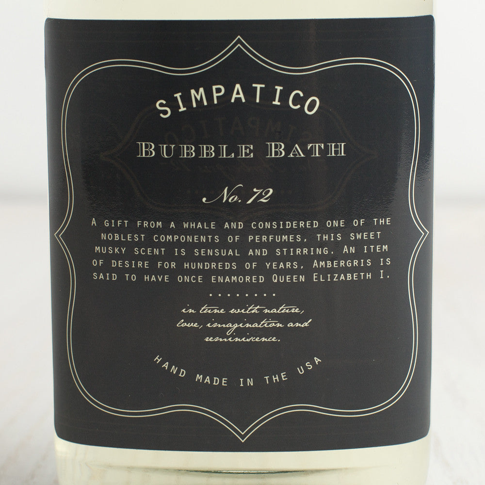 ambergris bubble bath-apothecary - oils & elixirs-simpatico by k hall designs-k colette