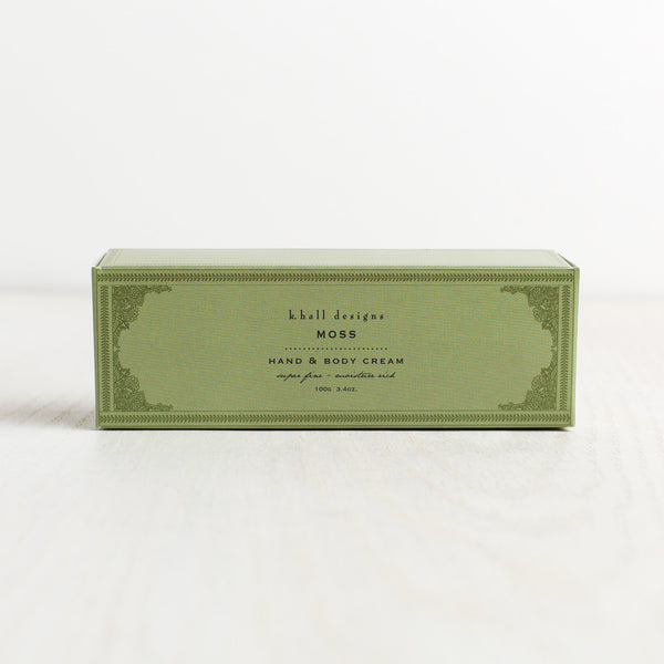 moss hand & body cream-apothecary - soaps & lotions-k hall designs-k colette