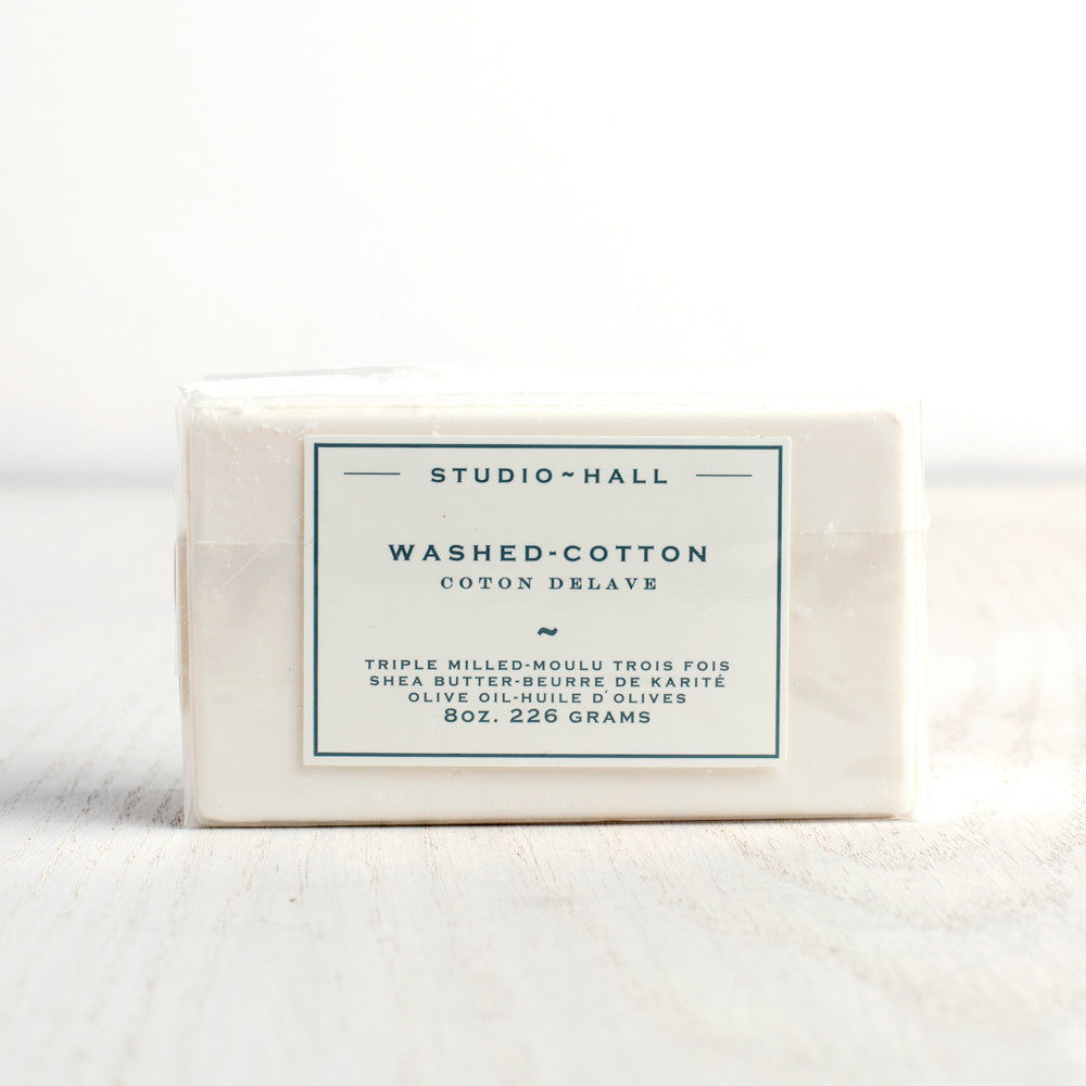 washed cotton bar soap-apothecary - soaps & lotions-k hall designs-Default Title-k colette
