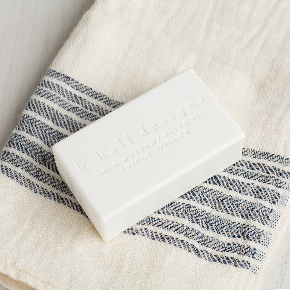 washed cotton bar soap-apothecary - soaps & lotions-k hall designs-k colette