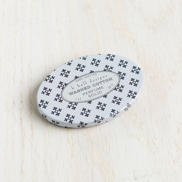 washed cotton solid perfume-apothecary - fragrance-k hall designs-k colette