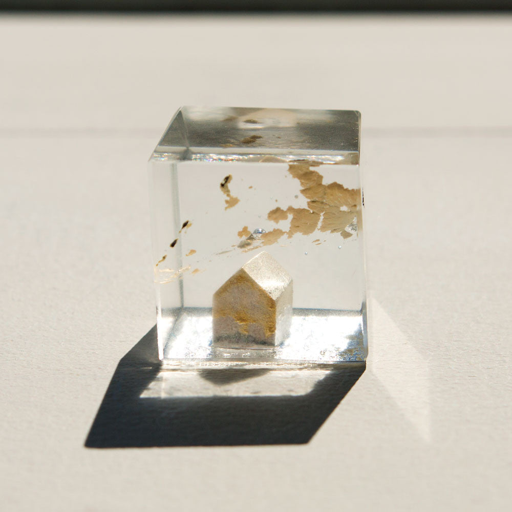 tiny atlantidas gold house, no. 1-art & decor - objets-luis parades-k colette