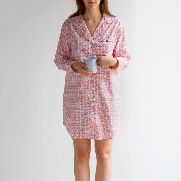 eloise nightshirt-textiles - pajamas-taylor linens-small-k colette