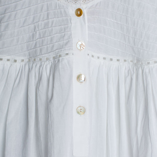 elisa nightgown-textiles - pajamas-taylor linens-small-k colette