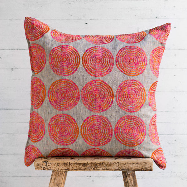 limited edition sweetgrass sunstone pillow-bed & bath - decor - pillows-coral & tusk-k colette