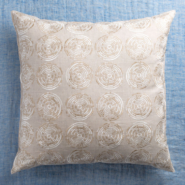 limited edition sweetgrass sand euro pillow-textiles - pillows-coral & tusk-Default-k colette